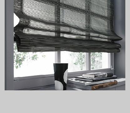 raffrollo grau leinen 1 st raffrollo rollo 120 x 140 wei. Black Bedroom Furniture Sets. Home Design Ideas